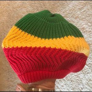Accessories - New Rasta knit hat bob Marley reggae snoop dog